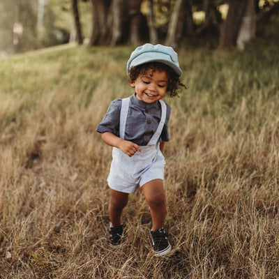 Little Boys Suspender Shorts | Vintage Style Clothing for Little Boys