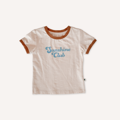 Sunshine Club Ringer Tee