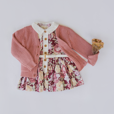 """Perfectly Imperfect"" Birdie Hopscotch Dress"