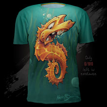 Load image into Gallery viewer, Endangered Seahorse Tee