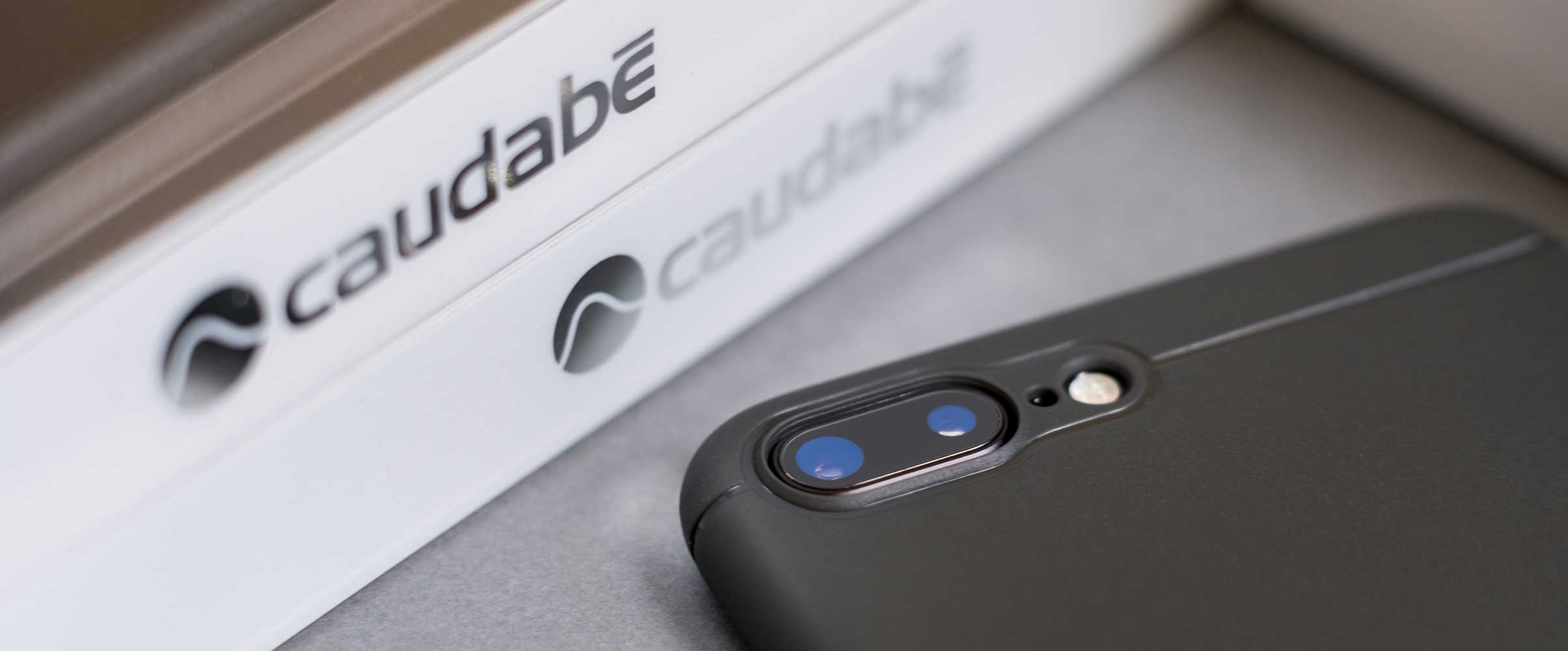 Caudabe Sheath | Slim, shock-absorbing protection for iPhone 7 | Box