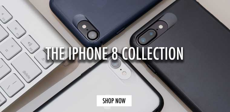 Premium ultra thin and minimalist iPhone 8 cases