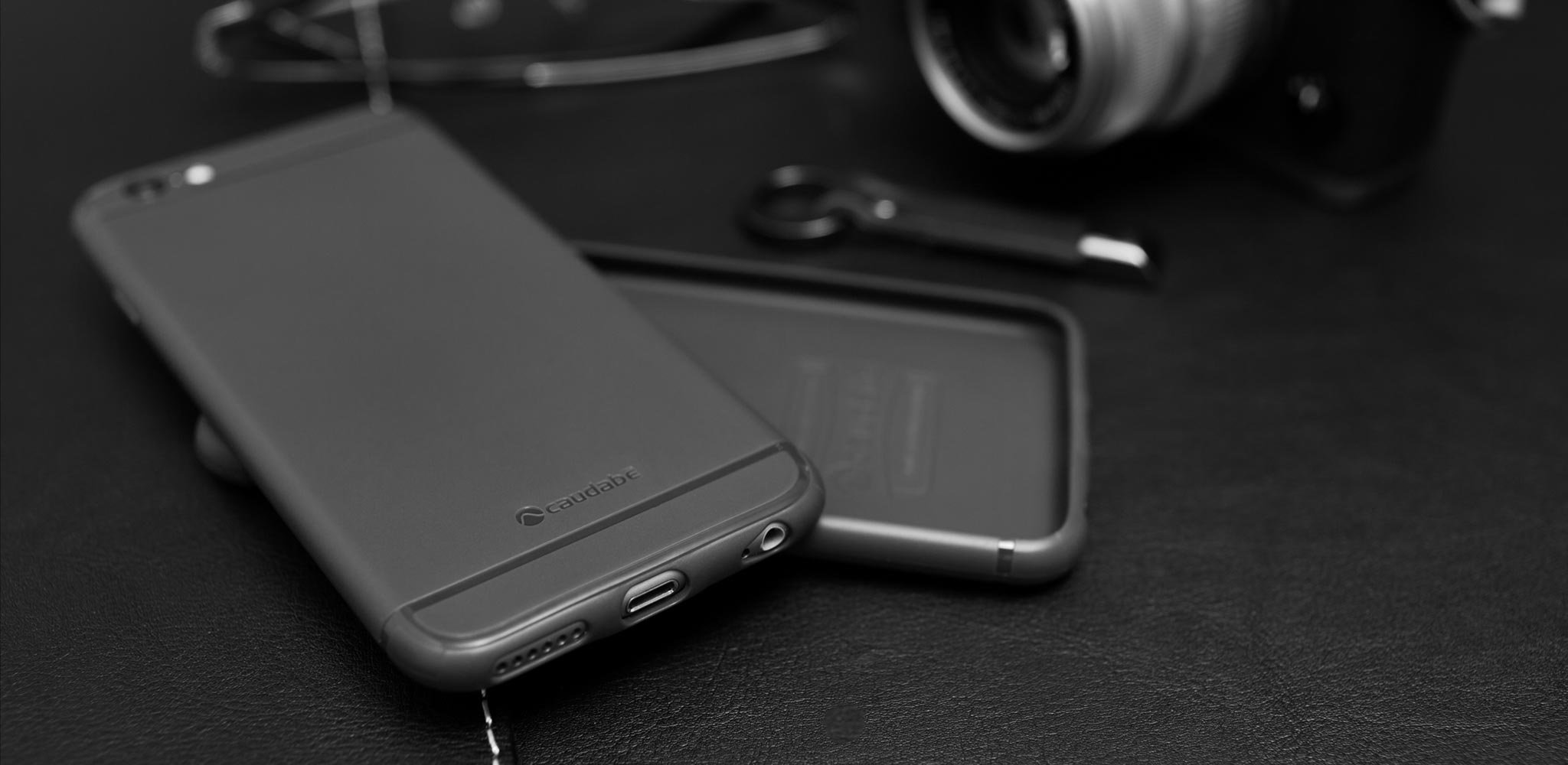 The Sheath | Super slim, shock-absorbing, minimalist iPhone case | camera