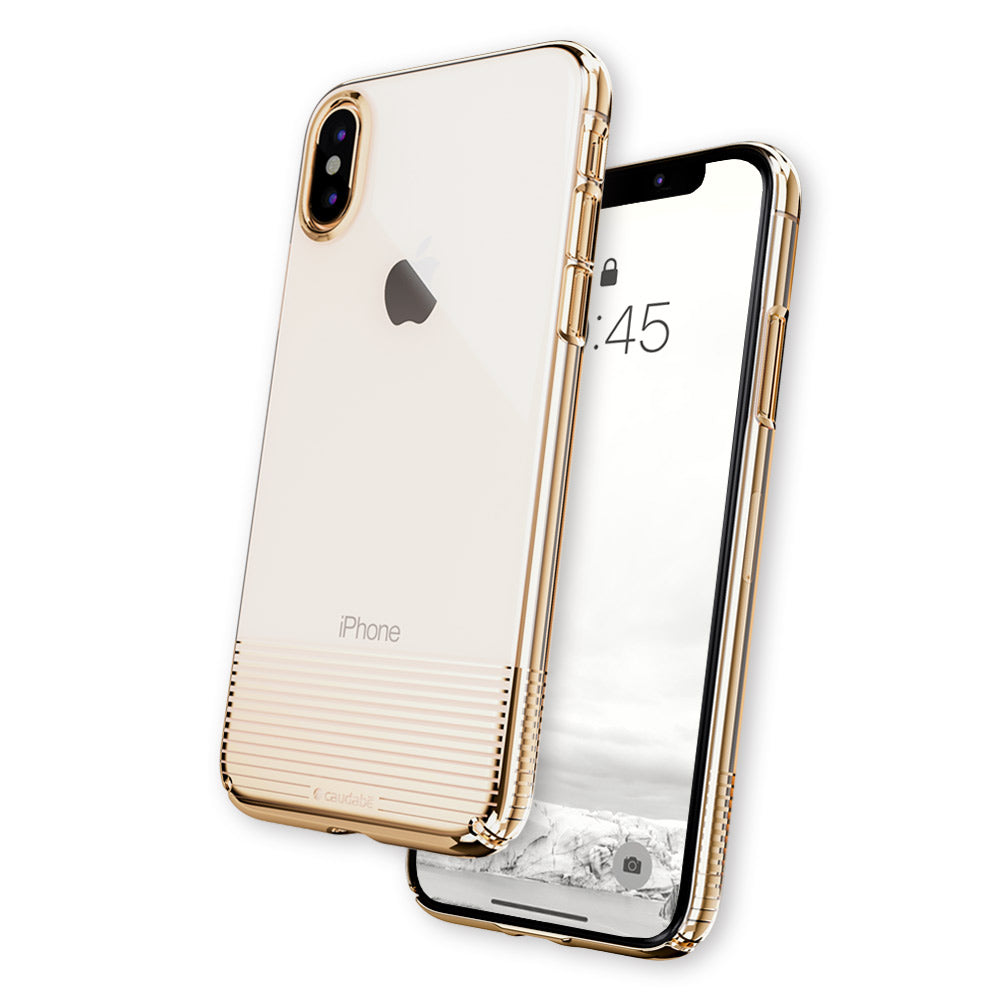 Lucid Clear - iPhone XS Max — Gold Metallic