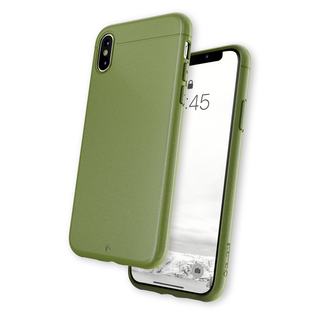 The Sheath - iPhone XS — Classic Camo Green