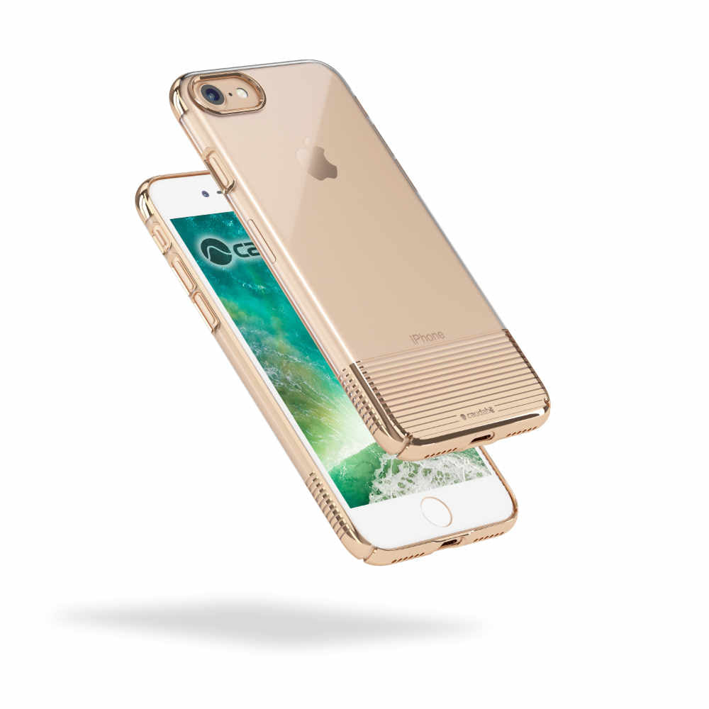 Lucid Clear - iPhone 7 — Gold Metallic