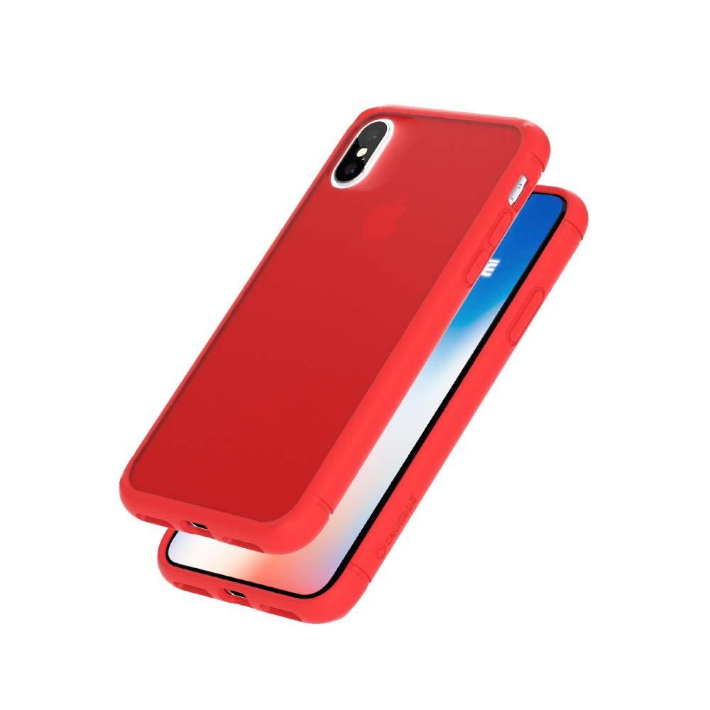 The Synthesis - iPhone X — Red