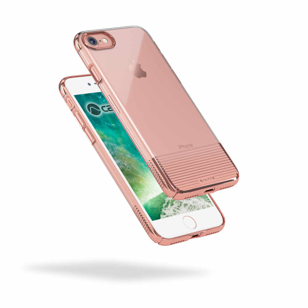 Lucid Clear - iPhone 7 — Rose Gold Metallic