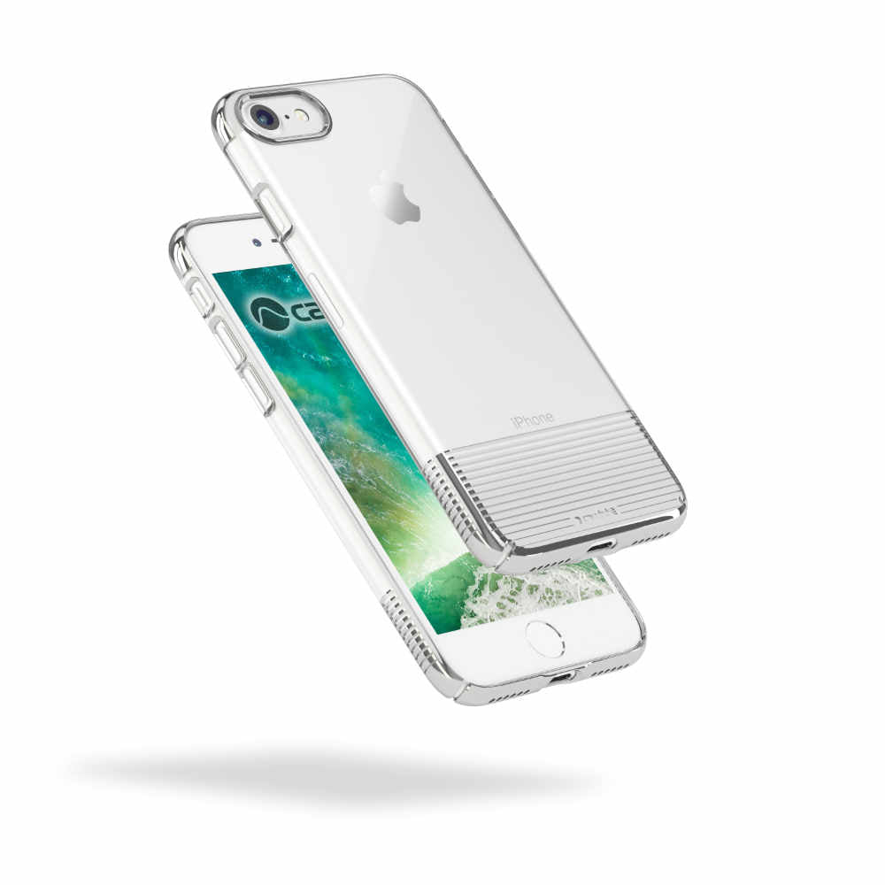 Lucid Clear - iPhone 7 — Silver Metallic