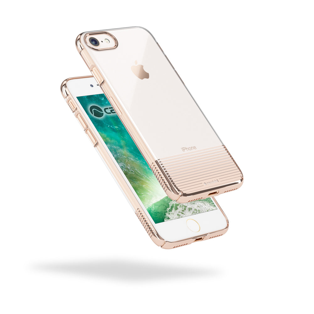 pretty nice 10d3d 15d44 Caudabe | Lucid Clear | Ultra slim, crystal clear iPhone 8 case