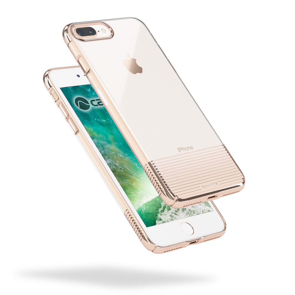 Lucid Clear - iPhone 8 Plus — Rose Gold Metallic