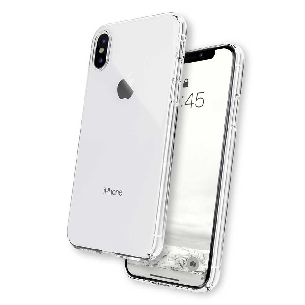 iphone xs see through case