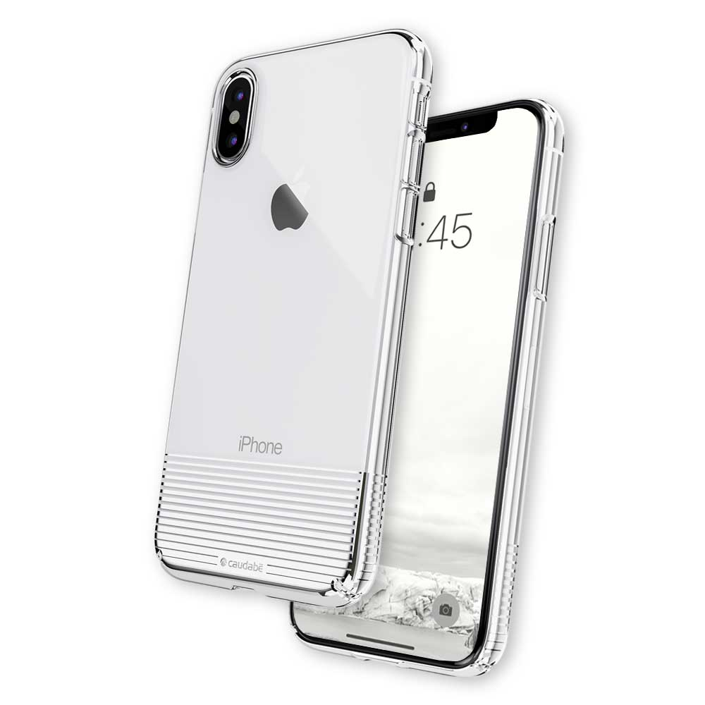 Lucid Clear - iPhone XS Max — Silver Metallic