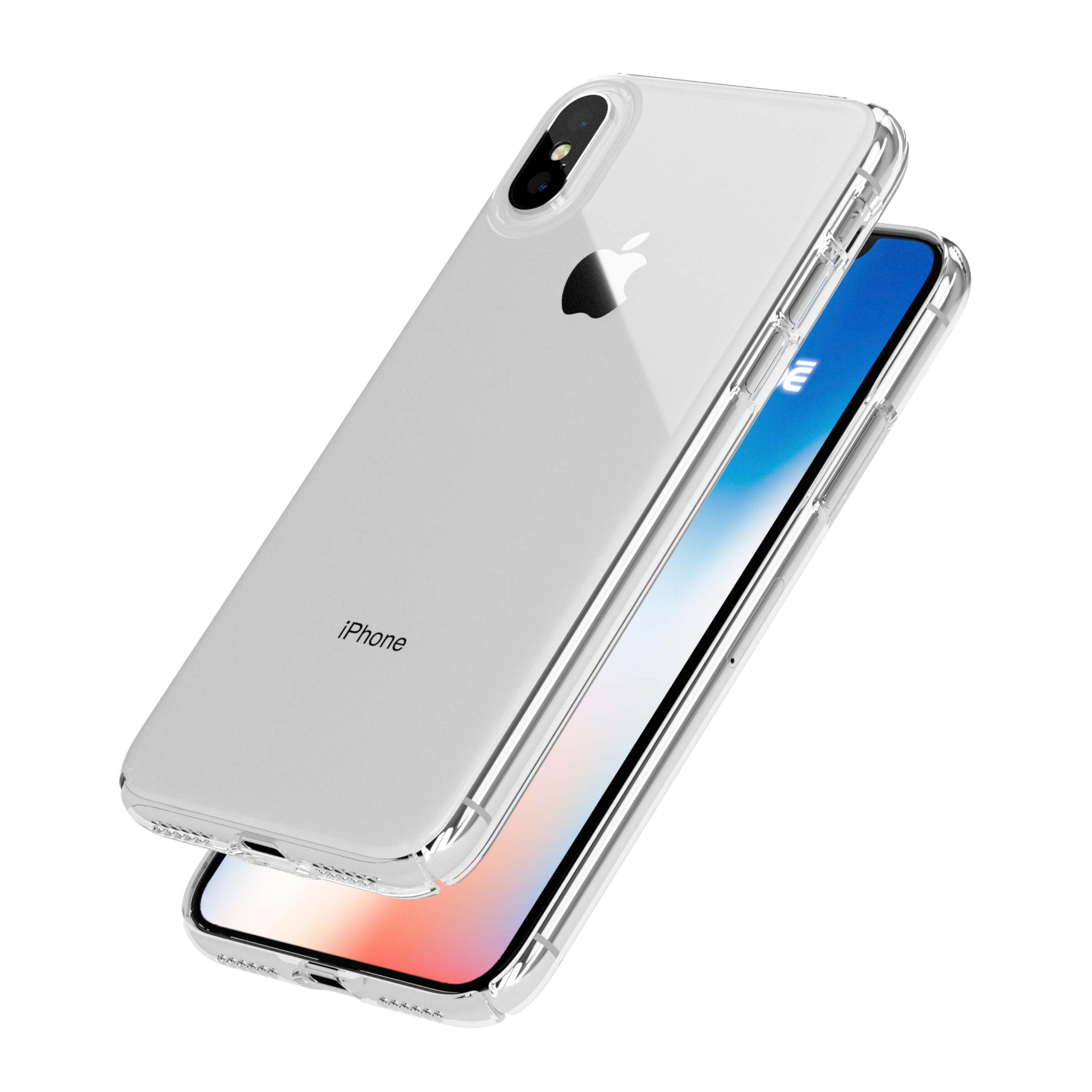 Caudabe | Lucid Clear | Ultra slim, crystal clear iPhone X ...