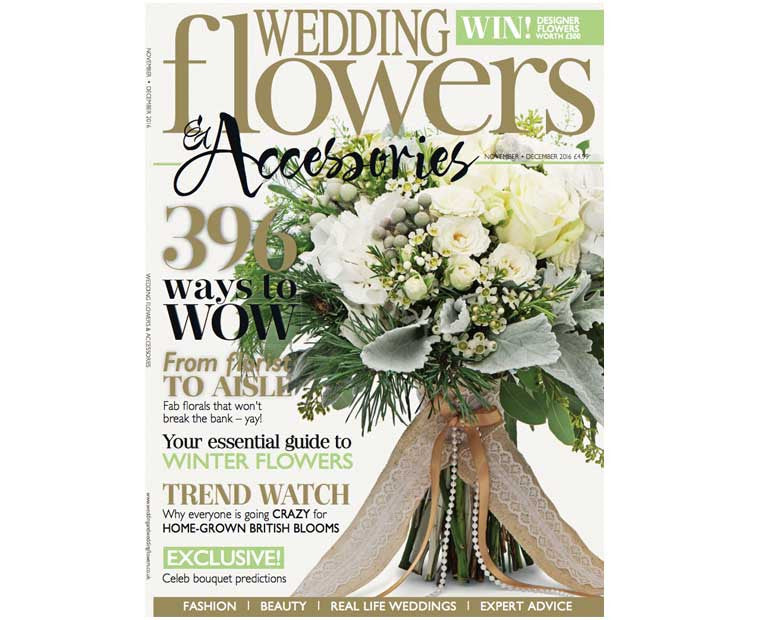 Wedding Flowers  Nov/Dec 2016