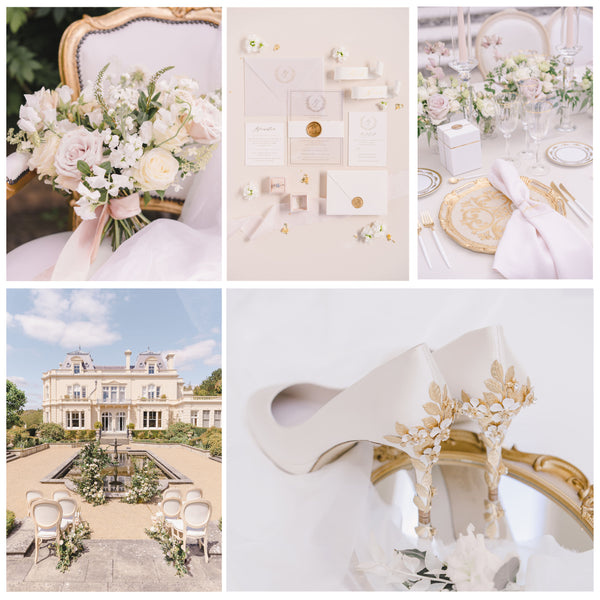 Styled shoot with Amy Mid Ivory Blossom