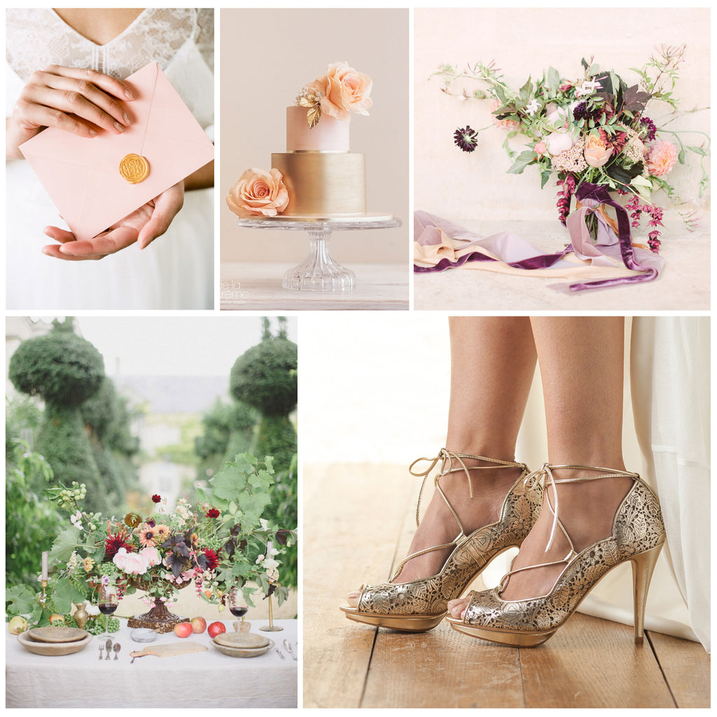 Champagne and Peach Inspiration