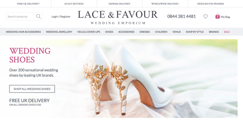 Harriet Wilde new stockist Lace and Favour in East Sussex