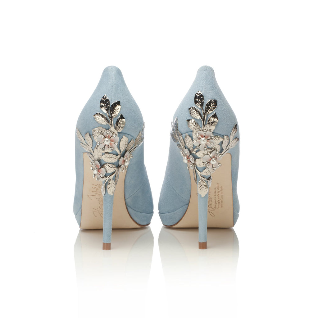 4f49c168852 Amy Blue Constance Wedding Shoes - Amy Bridal Shoes by Harriet Wilde