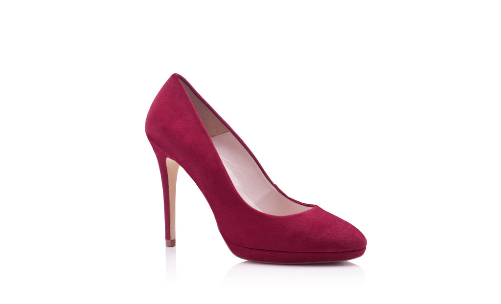 Red Bordo Wedding Shoes