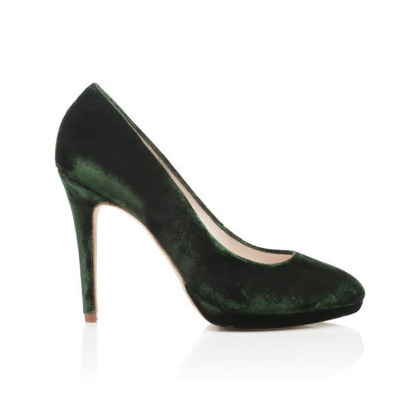 Amy Platform Forest Green