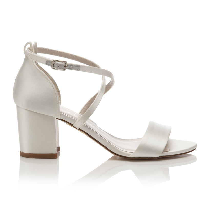 Block Heel Bridal Shoes