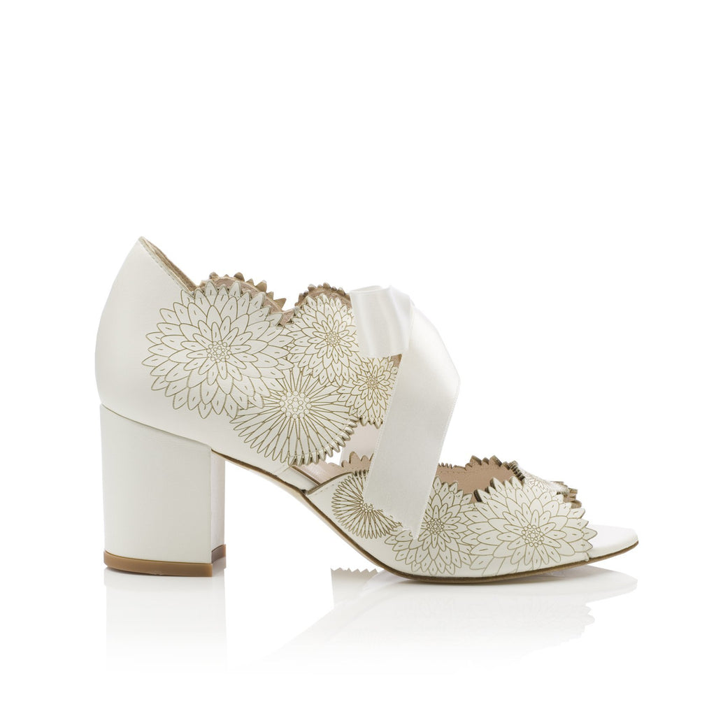 Dahlia Ivory Bridal Shoes