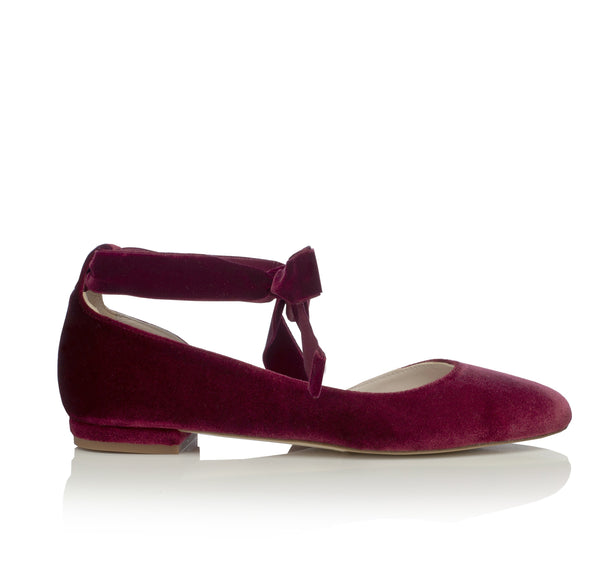Hetty Flat Bordo