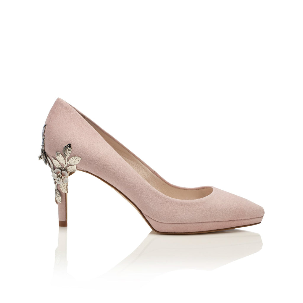 Joanie Mid Blush Constance bridal  Shoes