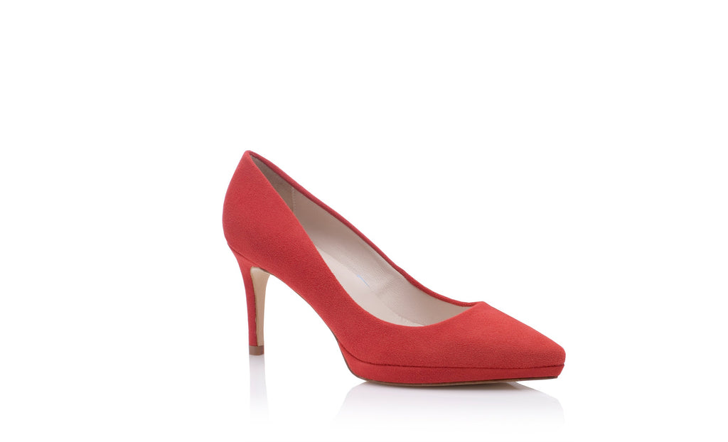 Joanie Mid Red Wedding Shoes