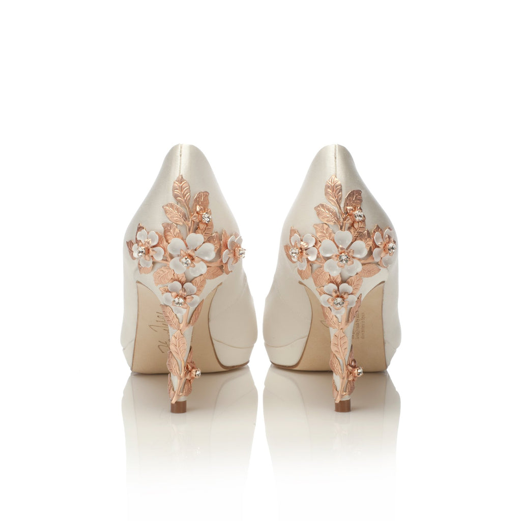 Joanie Mid Rose Gold Blossom