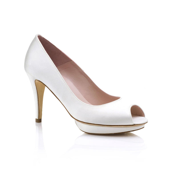 Avery Ivory Bridal Shoes
