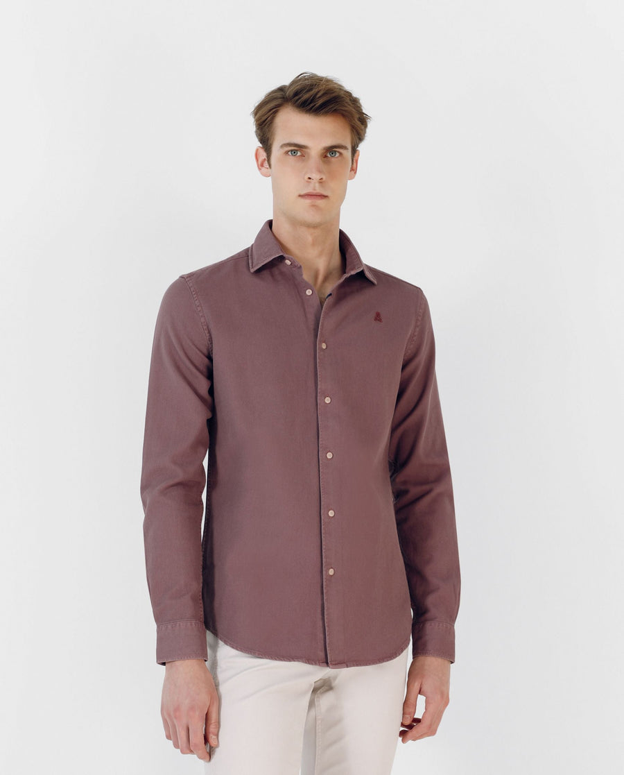 CAMISA GARMENT DYE REGULAR FIT - Scalpers España