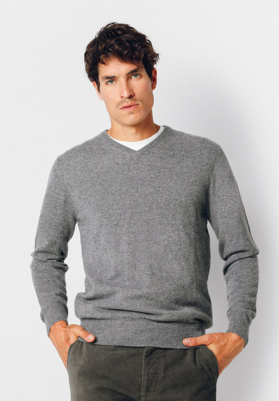 ICON CASHMERE V NECK