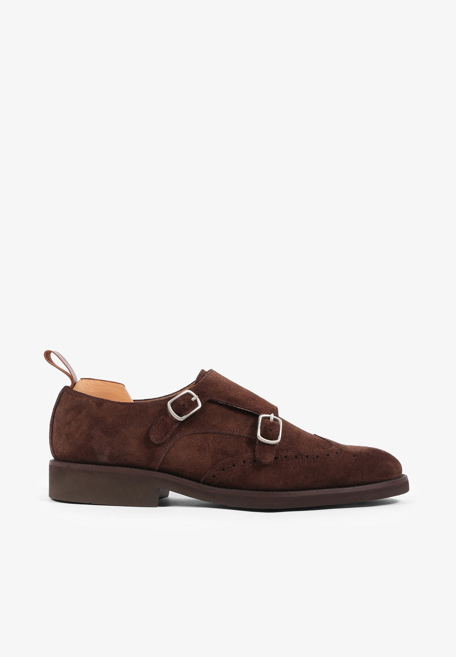 SAPATOS DOUBLE MONK CAMURÇA