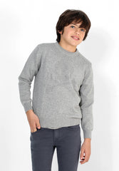 SWEATER COM LOGÓTIPO NO TOM