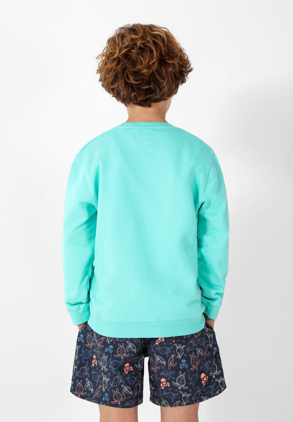 SWEATSHIRT COM LOGÓTIPO TROPICAL