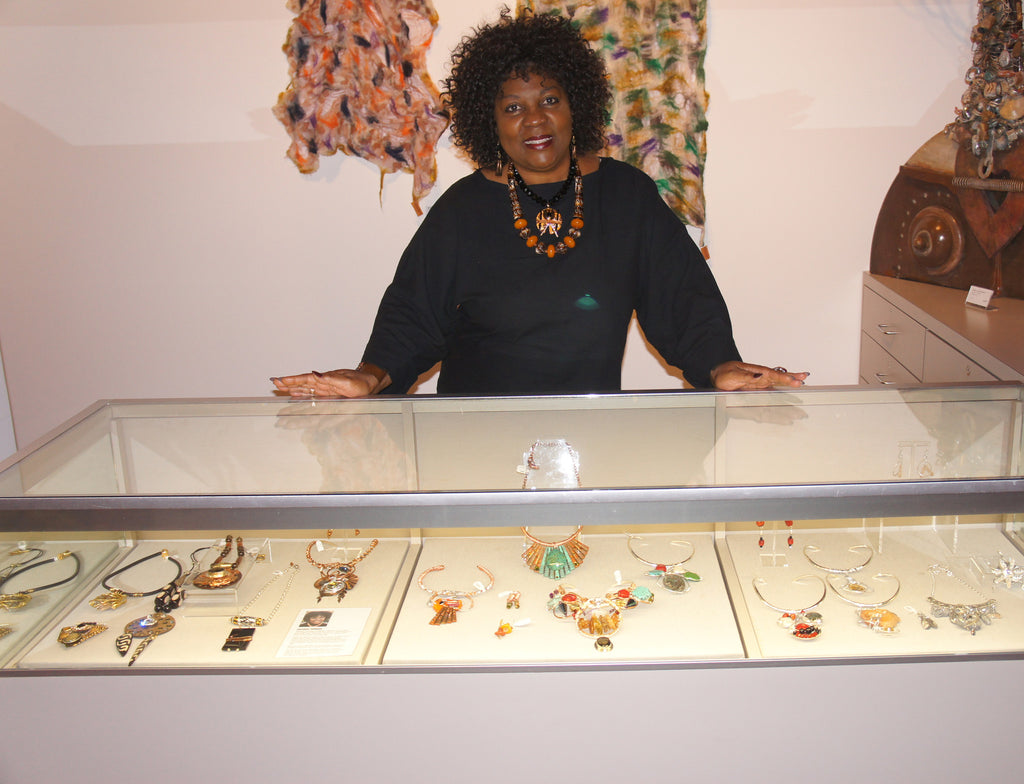 Detroit Jewelry Artist Rose Summers designs at the Detroit Institute of Arts!