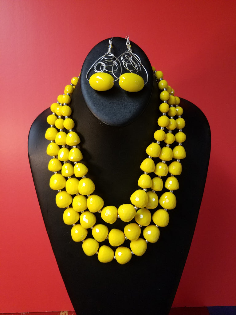 A Yellow Sunshine Set