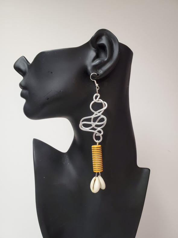 African Inspired Earrings