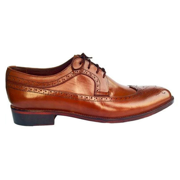 Johny Weber Handmade Oxford Brook  Brown Shoes - Johny Weber