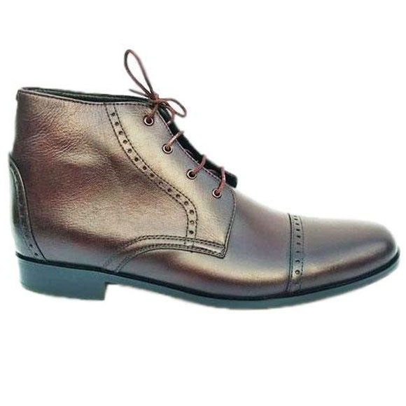 Johny Weber Handmade Brown Leather Men Chukka Boots - Johny Weber