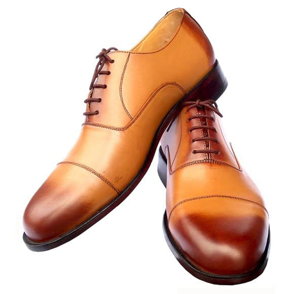 Johny Weber Handmade Oxford Brown Double Shaded - Johny Weber