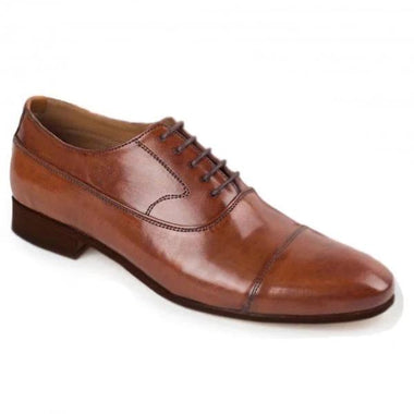 Johny Weber Handmade Oxford Style Brown Leather
