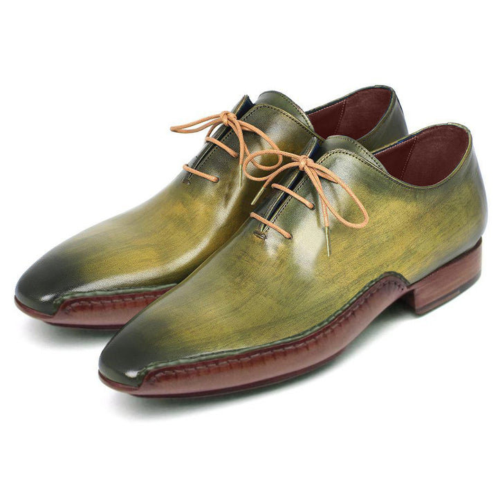 Johny Weber Hand Made Oxford Fold Soles Patina