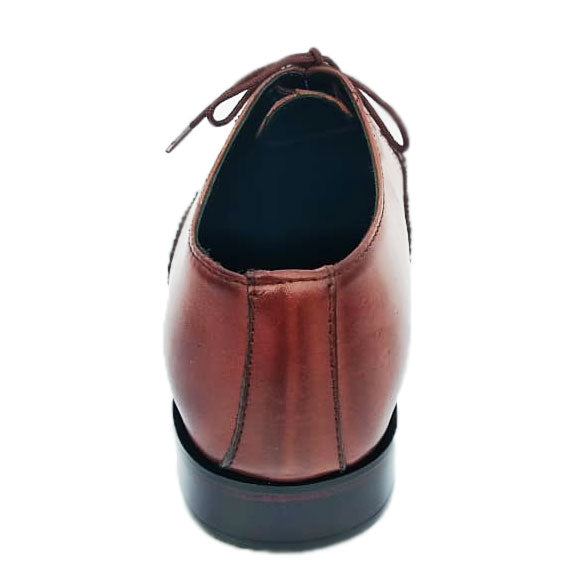 Johny Weber Handmade Crafted Brown Leather Oxfords - Johny Weber
