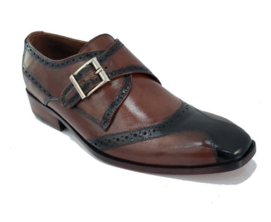 Johny Weber Handmade Single Monk Strap Shoes
