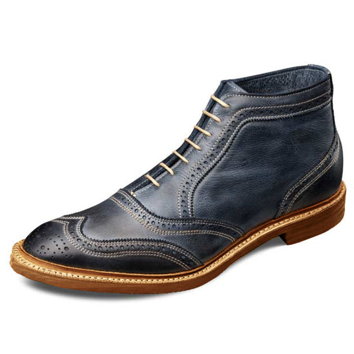 Johny Weber Handmade High Ankle Wing Tip Boots