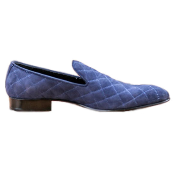 Johny Weber Handmade Blue Suede Leather - Johny Weber
