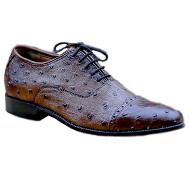 Johny Weber Oxfords in original ostrich leather